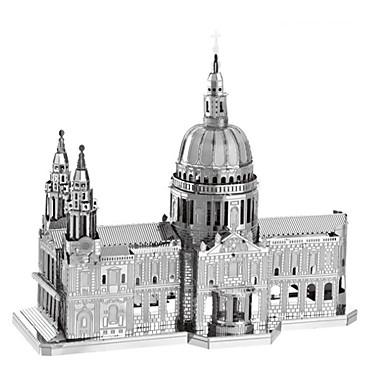 voordelige 3D-puzzels-3D-puzzels Legpuzzel Metalen puzzels Modelbouwsets Beroemd gebouw Kerk (83 kathedraal Creatief DHZ Cool Klassiek & Tijdloos Chic & Modern