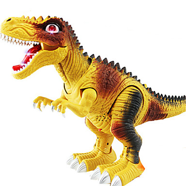 มังกรและไดโนเสาร์ รูปไดโนเสาร์ สัตว์ต่างๆ เดินเท้า เครื่องใช้ไฟฟ้า Triceratops ไดโนเสาร์ยุคจูราสสิก Duck พลาสติก คลาสสิกและถาวร สำหรับเด็ก เด็กผู้ชาย Toy ของขวัญ