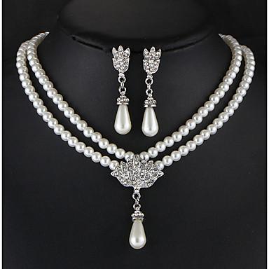 Žene Komplet nakita Stilski Naušnice Jewelry Obala Za Vjenčanje Party Special Occasion Dnevno Kauzalni