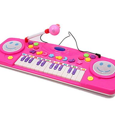 ตุ๊กตาอุปกรณ์เสริม Pretend Play Piano 1 pcs สำหรับเด็ก เด็กผู้หญิง Toy ของขวัญ