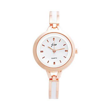 levne Dámské-Dámské Náramkové hodinky Křemenný Růže pozlacená Nerez Růžová 30 m Analog - Digitál Vintage - Růžová
