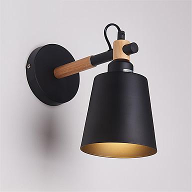 da45c6a99c0 madera arte deco metal rústico aplique de pared salón comedor lámpara de  pared pasillo negro blanco opcional 5581591 2019 –  54.05