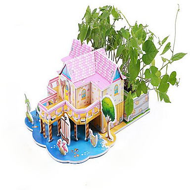 3D-puslespill ของเล่นการศึกษา บ้าน แปลกใหม่ กระดาษ Toy ของขวัญ