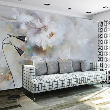 อาร์ต เดคโค 3D ของตกแต่งบ้าน ร่วมสมัย ครอบคลุมผนัง, ผ้าใบ วัสดุ กาวที่จำเป็น ภาพจิตรกรรมฝาผนัง, Wallcovering ห้อง