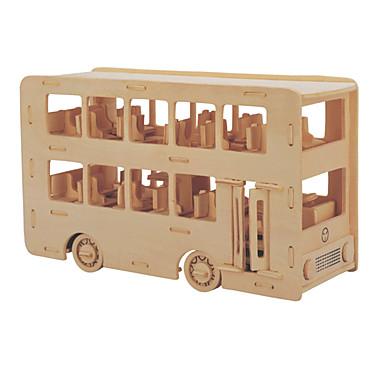 levne 3D puzzle-Stavební bloky / 3D puzzle / Puzzle Autobus / Dvoj patrový autobus profesionální úroveň / Udělej si sám Dřevěný 1 pcs Dětské Dárek