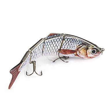 2 pcs Minnow ที่ลวงตาในเบ็ด Minnow Sinking Bass ปลาเทราท์ หอก การตกปลาทั่วไป พลาสติก