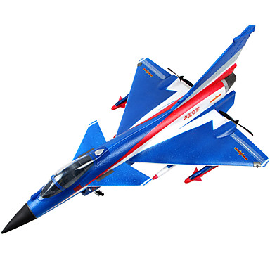Glider RC เครื่องบิน RC สีน้ำเงิน สีเทา Some Assembly Required Remote Controller Aircraft Blades USB Cable User Manual Screwdriver