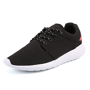 Hombre Zapatos Goma Primavera / Otoño Confort Zapatillas de Atletismo Negro / Gris / Gris claro DYrAa