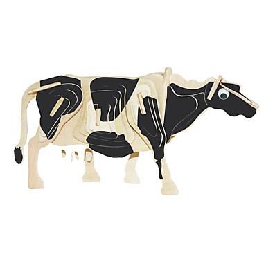 levne 3D puzzle-Dřevěné puzzle Býk Cow profesionální úroveň Dřevěný 1pcs Chlapecké Dárek