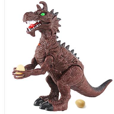 มังกรและไดโนเสาร์ รูปไดโนเสาร์ เครื่องใช้ไฟฟ้า Triceratops ไดโนเสาร์ยุคจูราสสิก Tyrannosaurus Rex พลาสติก คลาสสิกและถาวร สำหรับเด็ก เด็กผู้ชาย Toy ของขวัญ