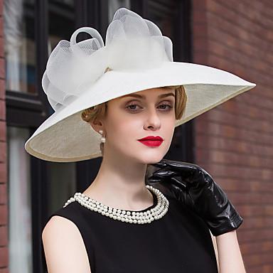 levne Klobouk na party-lněná krajka klobouky šátek strana svatební elegantní klasický ženský styl