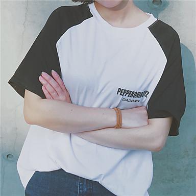 podepsat ulzzang Harajuku styl s krátkým rukávem tričko žena milenci BF  samci a samice studenti volné zvětší velikost prvotřídní služby 5578827  2019 – ... 9bb70fad7e