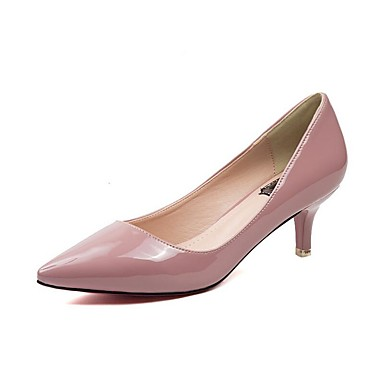 72e1be2eec3 Women s Shoes Patent Leather Spring   Summer Comfort   Club Shoes Heels  Walking Shoes Stiletto Heel Pointed Toe Black   Almond   Nude 5804921 2019  –  26.99