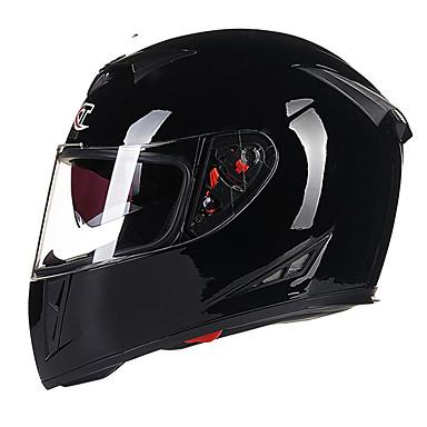 billige Motorsykkel & ATV tilbehør-GXT 358 Heldekkende Voksen Herre Motorsykkel hjelm Anti-dugg / Pustende