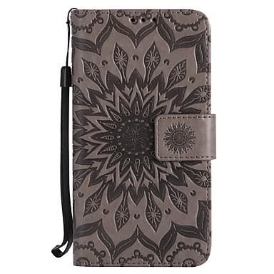 Case สำหรับ Motorola Moto Z / Moto Z Force / Moto G4 Play Wallet / Card Holder / with Stand ตัวกระเป๋าเต็ม Mandala Hard หนัง PU