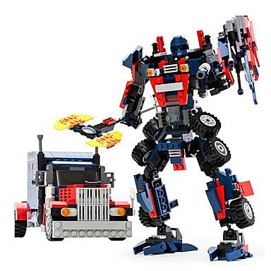 GUDI Robot รถของเล่น Building Blocks 377 pcs นักรบ เครื่องจักร Robot ที่เข้ากันได้ Legoing transformable Creative เท่ห์ คลาสสิกและถาวร สง่า&หรูหรา ชุดกระโปรงแบบGlamorous & Dramatic
