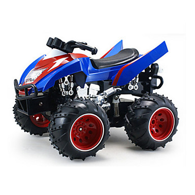 cheap RC Motorcycles-1:16 Gas RC Car Blue Ready-To-Go Remote Control Car
