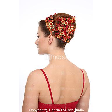 คริสตัลเลียนแบบมุก headbands headpiece คลาสสิคผู้หญิงสไตล์