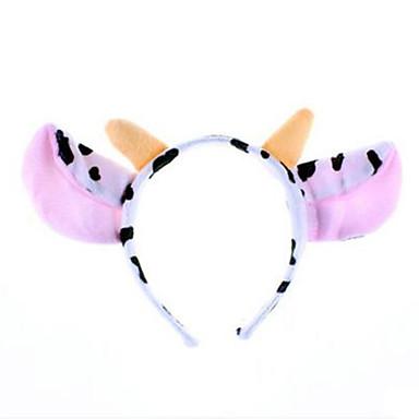 CHENTAO หมวก Cow ปาร์ตี้ ผู้ใหญ่ ทุกเพศ เด็กผู้ชาย เด็กผู้หญิง Toy ของขวัญ 1 pcs