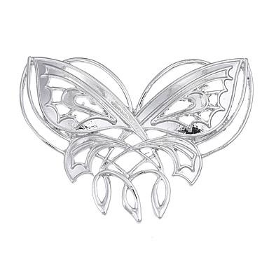 levne Dámské šperky-Dámské Brože Logo Zvíře dámy Jedinečný design Vintage Euramerican Brož Šperky Stříbrná Pro Zvláštní příležitosti