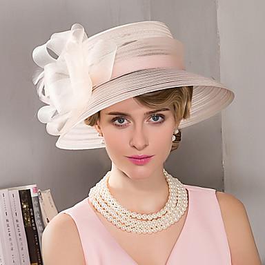 voordelige Hoeden-veren fascinators hoeden hoofddeksel elegante klassieke vrouwelijke stijl