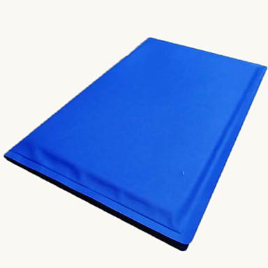 แมว สุนัข เบาะที่นอน ที่นอน ผ้าห่มเตียง ผ้าห่ม เส้นใยสังเคราะห์ Portable สองด้าน ที่สามารถพับได้ สีพื้น