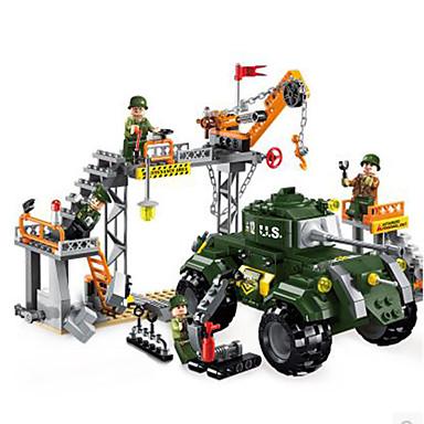 ENLIGHTEN Building Blocks ของเล่นชุดก่อสร้าง ของเล่นการศึกษา DIY คลาสสิก ทุกเพศ เด็กผู้ชาย เด็กผู้หญิง Toy ของขวัญ