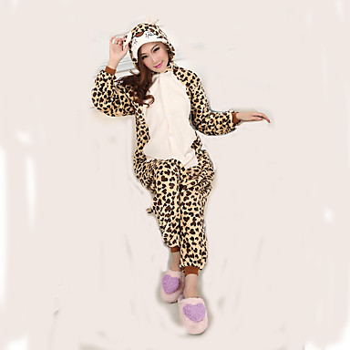 e64d951753 Adults  Kigurumi Pajamas Leopard Onesie Pajamas Flannel Toison Cosplay For  Men and Women Animal Sleepwear Cartoon Festival   Holiday Costumes 736460  2019 – ...