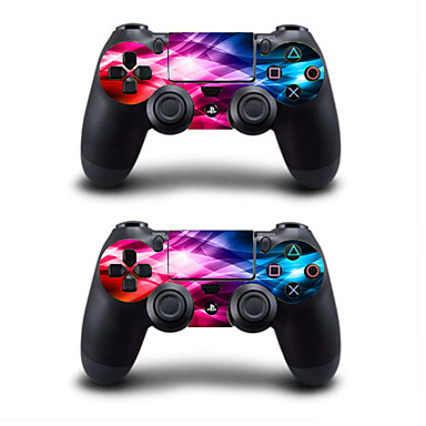 cheap PS4 Accessories-B-SKIN colorful Sticker For PS4