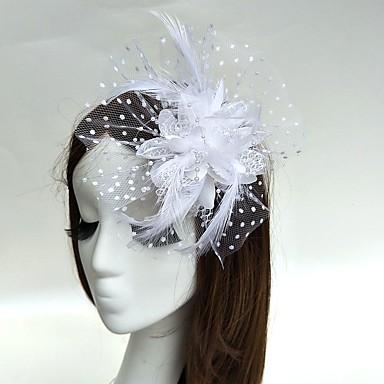 preiswerte Partyhut-Feder Fascinatoren / Blumen / Hüte mit 1 Hochzeit / Besondere Anlässe Kopfschmuck