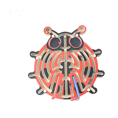 Muwanzi ปริศนาไม้ เขาวงกต เขาวงกตแม่เหล็ก Magnetic เด็กผู้ชาย เด็กผู้หญิง Toy ของขวัญ