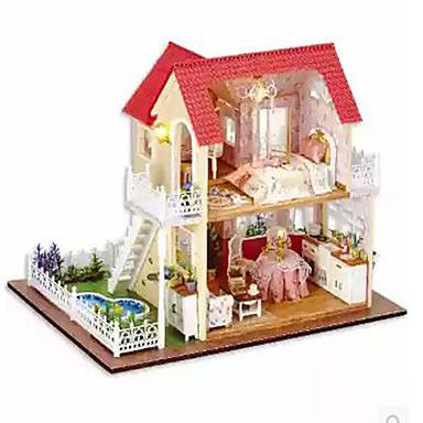 กล่องดนตรี Dukkehus DIY เฟอร์นิเจอร์ บ้าน ทำด้วยไม้ Toy ของขวัญ