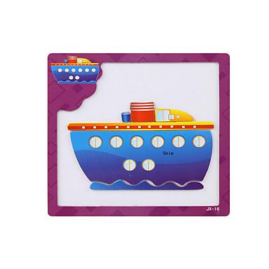 voordelige 3D-puzzels-3D-puzzels Houten modellen Schip Plezier Klassiek Kinderen Speeltjes Geschenk