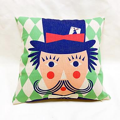 1 pcs Linen Pillow Case Body Pillow Travel Pillow Sofa Cushion Novelty Pillow,Novelty Geometric ...