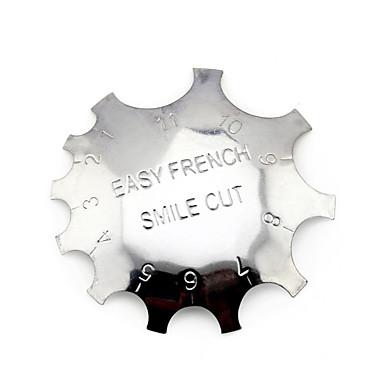 זול חותמות לציפורניים-1 pcs חותמת פלייט עיצוב ציפורניים פדיקור מניקור אופנתי יומי / פלייט Stamping / פלדה