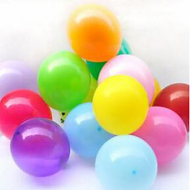 levne Balónky-Věci na oslavy Balónky Hračky Kulatý Nafukovací Párty Perlový Latex Nespecifikováno Pieces