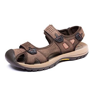 130ffa71ffa [$31.99] Ανδρικά Παπούτσια Δέρμα Άνοιξη Καλοκαίρι Ανατομικό Σανδάλια  Περπάτημα ...