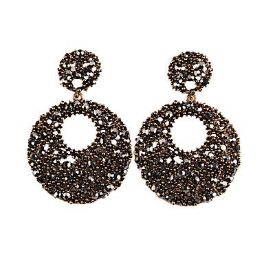 povoljno Modne naušnice-Žene Vintage Moda Euramerican Naušnice Jewelry Braon Za Vjenčanje Party Special Occasion Dar