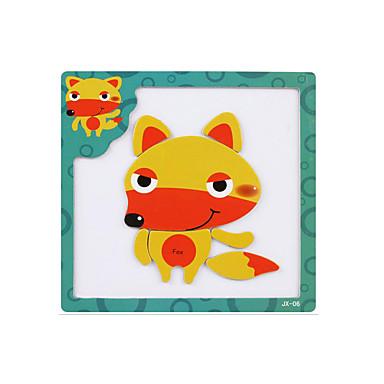preiswerte 3D - Puzzle-Tangram 3D - Puzzle Holzpuzzle Magnetisch Holz Zeichentrick Kinder Spielzeuge Geschenk