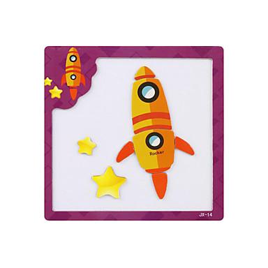 levne 3D puzzle-Tangram 3D puzzle Puzzle Magnetické Dřevo Animák Dětské Hračky Dárek / Dřevěné puzzle
