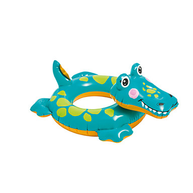 cheap Inflatable Ride-ons & Pool Floats-Inflatable Pool Float Donut Pool Float Inflatable Pool PVC(PolyVinyl Chloride) Summer Crocodile Pool Kid's Adults'