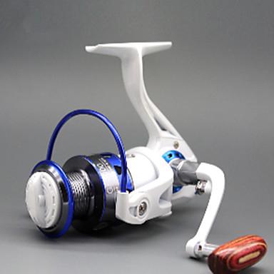 Gelendong Memancing Spinning Reels 5.2:1 อัตราทดเกียร์+12 บอลแบริ่ง ปฐมนิเทศมือ ที่สามารถแลกเปลี่ยนได้ ตกปลาทะเล - GF6000