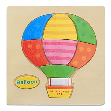 Pedagogiske flash-kort Puslespill ปริศนาไม้ Pegged Puzzles ของเล่นการศึกษา Toys สัตว์ต่างๆ DIY ของเด็ก สำหรับเด็ก 1 ชิ้น