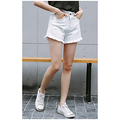 a5fc7544c9b Dámské Sexy Elegantní   moderní Neelastické Kraťasy Kalhoty Low Rise  Polyester Pevná barva Léto 5681456 2019 –  13.64