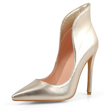 Mujer Zapatos PU Verano Otoño Confort Innovador Zapatos del club Tacones  Tacón Stiletto Dedo Puntiagudo Para Casual Vestido Fiesta y Noche 5718439  2019 – ... 5c8db2753919