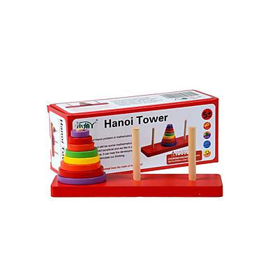 voordelige Rekenspeelgoed-Bouwblokken Educatief speelgoed Speeltjes Toren Speeltjes Stuks Kinderen Geschenk
