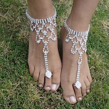 povoljno Nakit za tijelo-Žene Sandale od nakita Ptica Moda Kratka čarapa Jewelry Pink Za Vjenčanje Party Halloween