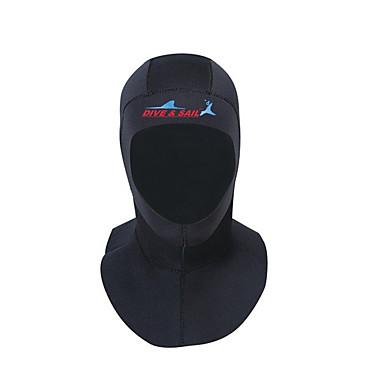 Dive&Sail ฮู๊ดดำน้ำ 3mm สแปนเด็กซ์ Neoprene สำหรับ ผู้ใหญ่ - กันน้ำ ระบายอากาศ การว่ายน้ำ การดำน้ำ Snorkeling / ฤดูหนาว / ยืด