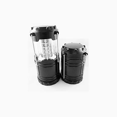 ไฟฉาย LED Waterproof นาฬิกา LED อื่นๆ อิมิเตอร์ 2 โหมดโคมไฟ Waterproof หรี่แสงได้ แคมป์ปิ้ง / การปีนเขา / เที่ยวถ้ำ ใช้เป็นประจำ สีดำ