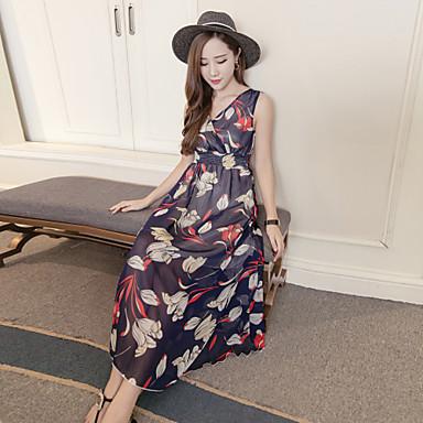 igazi lövés koreai változata az új pillangó sifon nyári strand ruha bohém  ruha női vékony 5684573 2019 –  13.64 322e2adb41